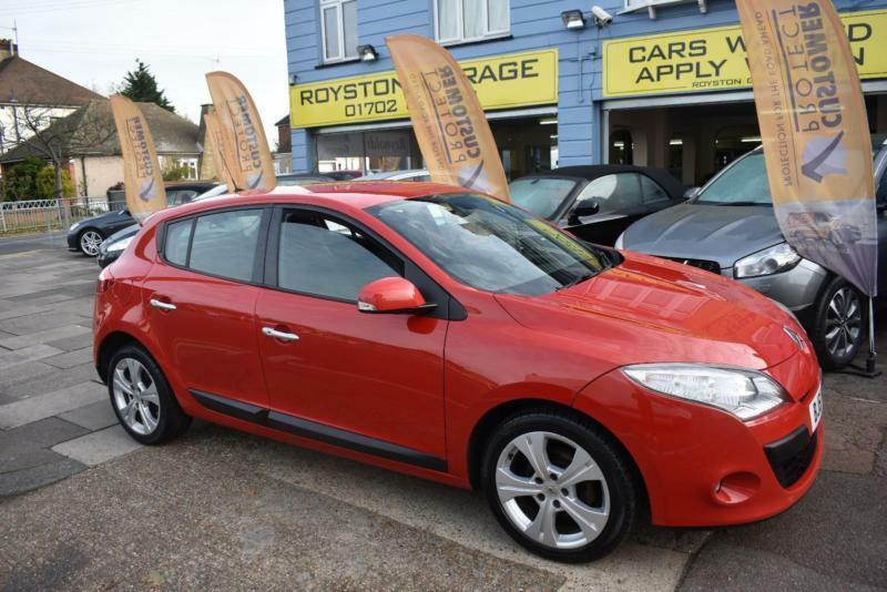 BAD CREDIT CAR FINANCE AVAILABLE 2011 61 RENAULT MEGANE 1.5dCi DYNAMIQUE TomTom