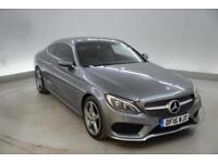 Mercedes-Benz C Class C250d AMG Line Premium Plus 2dr Auto