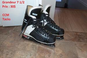 Patins de hockey voir photos pour infos