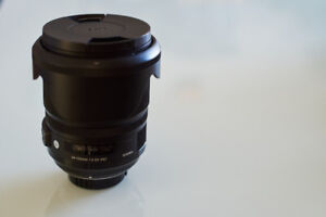 Sigma DG ART 24-105mm f/4.0 Lens for Nikon