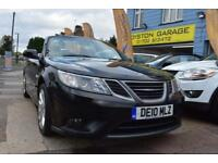 GOOD CREDIT CAR FINANCE 2010 10 SAAB 9-3 1.9TiD CONVERTIBLE VECTOR SPORT