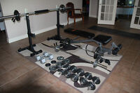 Home Weightlifting Starter Gym Set