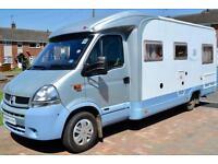 Burstner Delfin T686 Low Profile Coachbuilt Motorhome for Sale 4 Berth