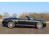 Bentley Continental GTC SPEED 6.0 W12 CONVERTIBLE