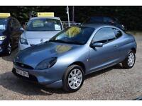 FORD PUMA 1.7 BLUE EDITION, AIR CON, FULL TWO TONE BLUE LEATHER,