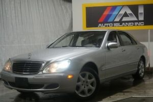 2006 Mercedes-Benz S-Class 5.0L LWB 4MATIC, Navi, Leather, Sunro