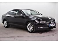 2015 Volkswagen Passat SE BUSINESS TDI BLUEMOTION TECHNOLOGY Diesel black Manual