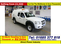 2008 - 08 - FORD RANGER SUPERCAB 2.5TDCI 4X4 PICK UP (GUIDE PRICE)