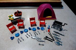Playmobil #7260 | Tente  et Accessoires | 50 mcx / 10$