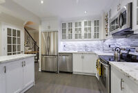 Renovated Top-To-Bottom Townhouse in Newmarket W. Custom Kitchen