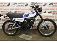 1982 Yamaha DT125, UK bike, Very Clean.