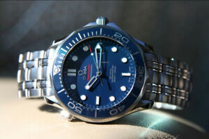 OMEGA Seamaster Diver 300M Co-Axial - James Bond 007 Watch