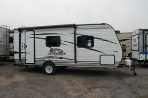 Very new camping trailer for rent