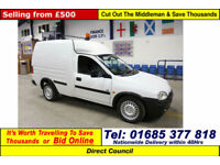1999 - T - VAUXHALL COMBO 1.7D CAR DERIVED VAN (GUIDE PRICE)