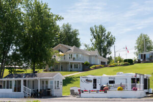 Waterfront RV Park With Gorgeous Home For Sale - Income Property