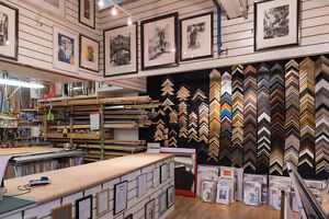 Frame Shop & Gallery - Owners Retiring (business only)