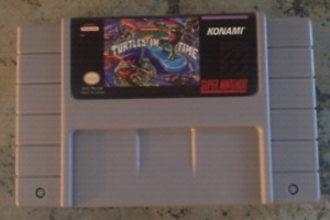 Super Nintendo Game. Turtles In Time.