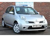 Nissan Micra 1.2 16v 79bhp Acenta+ Petrol Automatic 5 Door Hatchback in Silver