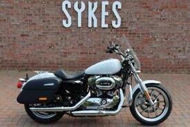 2020 Harley-Davidson XL1200T Sportster Superlow1200 in White