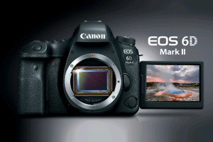 BRAND NEW CANON EOS 6D MARK II WITH 24-105MM LENS KIT​
