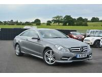 2013 Mercedes-Benz E Class 2.1 E220 CDI BlueEFFICIENCY Sport 7G-Tronic Plus 2dr