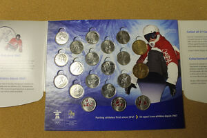 reduced Olympic Coins Full set