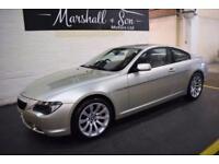 2006 56 BMW 6 SERIES 4.8 650I SPORT 2D AUTO 363 BHP