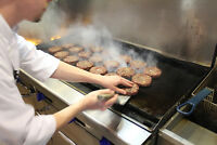 GRILL COOK NEEDED - Gourmet Burgers - Mon to Fri (11AM - 3PM)