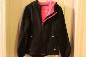 Girls George, black fall jacket