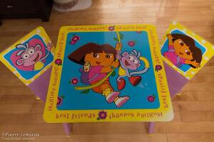 Table pour enfant Dora l'Exploratrice
