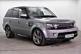2012 Land Rover Range Rover Sport SDV6 HSE LUXURY Diesel grey Automatic