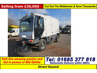 2014 - 14 - DULEVO 5000 EVOLUTION 4 WHEEL STEER 12.9TON ROAD SWEEPER