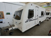 2012 Bailey Orion 440/4 4 Berth Touring Caravan with Double Dinette