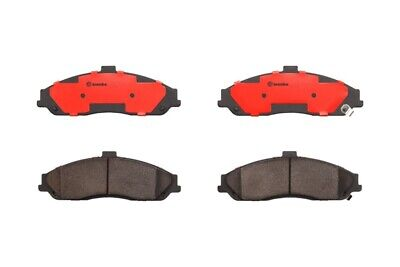 Brembo Front Ceramic Slotted Brake Pad Set For Chevy Corvette Cadillac Pontiac
