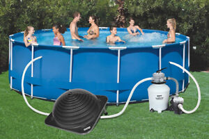 GAME 4714-2L Solar PRO Contour Dome Pool Heater