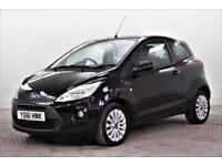 2011 Ford Ka ZETEC Petrol black Manual