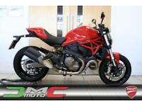 2016 Ducati Monster 821 Red 2,680 Miles | £131 Deposit & £131 PCM