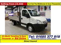 2008 - 08 - IVECO DAILY 35C12 2.3HPI MWB DROPSIDE (GUIDE PRICE)