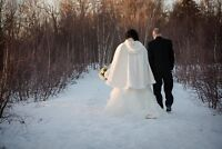 Winter Wedding Cape (ivory)