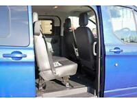 2017 FORD TRANSIT CUSTOM 290 TDCI 170 L1H1 SPORT DOUBLE CAB 5 SEAT CREW VAN SWB