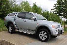 2009 Mitsubishi L200 2.5DI-D 4WD Double Cab Pickup Warrior AUTO, LOW MILES, FSH
