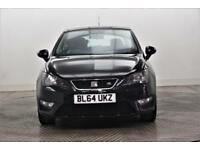 2015 SEAT Ibiza TSI FR Petrol black Manual
