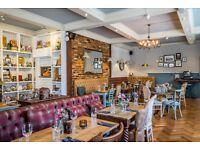 Experienced Bar & Floor Staff Chislehurst UPTO £8 PH plus tips