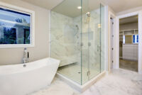 GLASS Shower Doors, Railings, Tables, Shelves and More!