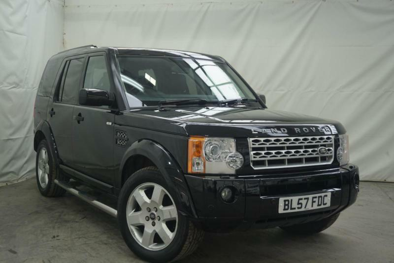2007 land rover discovery 3 tdv6 hse diesel black automatic in bury manchester gumtree. Black Bedroom Furniture Sets. Home Design Ideas