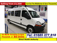 2006 - 06 - RENAULT MASTER LM35 2.5DCI 120PS LWB 7 SEAT DISABLED ACCESS PTS BUS