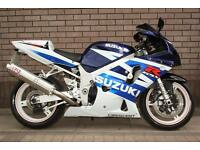 SUZUKI GSXR 600 GSXR600 K3 2004 2003 SPORTS BIKE