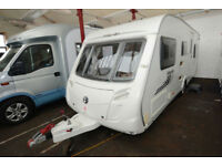 2011 Swift Merlin 565 6 Berth Touring Caravan with Fixed Bunks