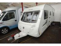 2011 Swift Merlin 565 6 Berth Touring Caravan with Fixed Bunks