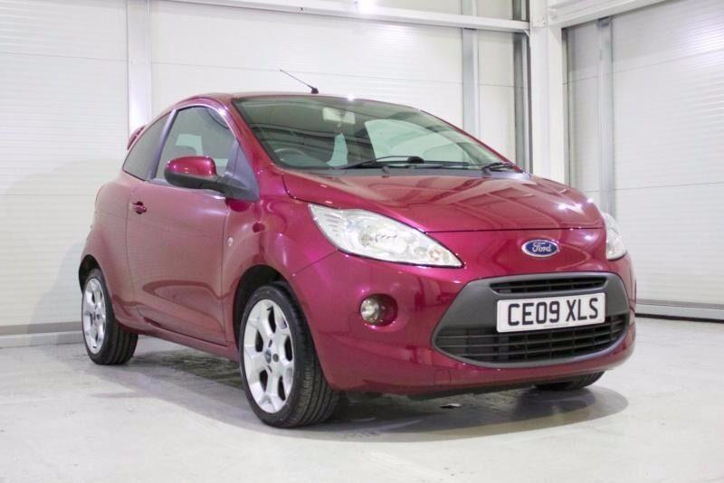 Ford Ka   Zetec In Blush Pink